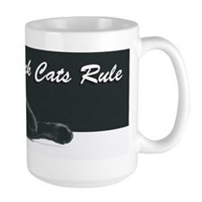 Black Cats Rule 2 Mug