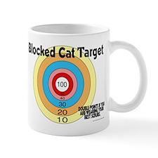 Blocked Cat Target Small Mug