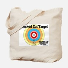 Blocked Cat Target Tote Bag