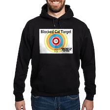 Blocked Cat Target Hoodie