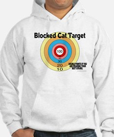 Blocked Cat Target Jumper Hoody