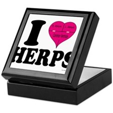 I Heart Herps Keepsake Box