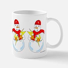 Electrical Snowman Mug