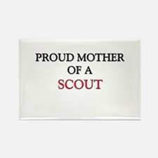Proud Mother Of A SCOUT Rectangle Magnet