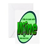 I Love Wine Greeting Cards (Pk of 20)