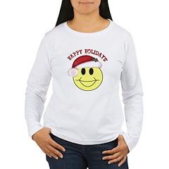 Happy Holidays Women's Long Sleeve T-Shirt