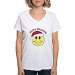 Happy Holidays Women's V-Neck T-Shirt