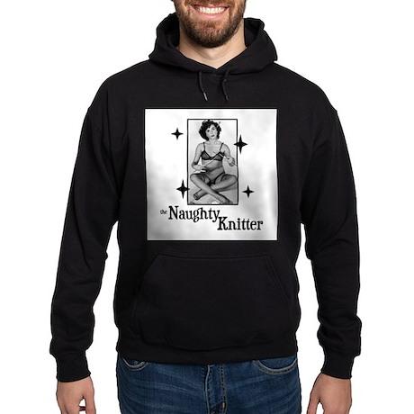 The Naughty Knitter Hoodie (dark)