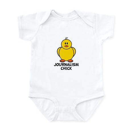 Journalism Chick Infant Bodysuit