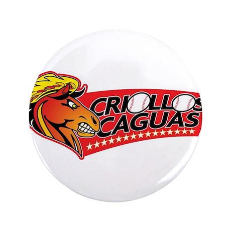 """Criollos Caguas 3.5"""" Button"""