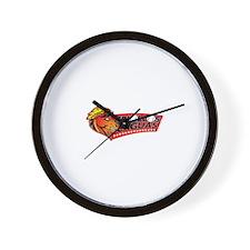 Criollos Caguas Wall Clock