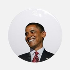 Obama Christmas Ornament (Round)