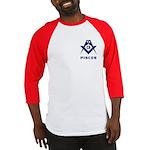 Masonic Pisces Sign Baseball Jersey