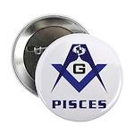 Masonic Pisces Sign 2.25
