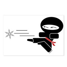 Lil Ninja Postcards (Package of 8)