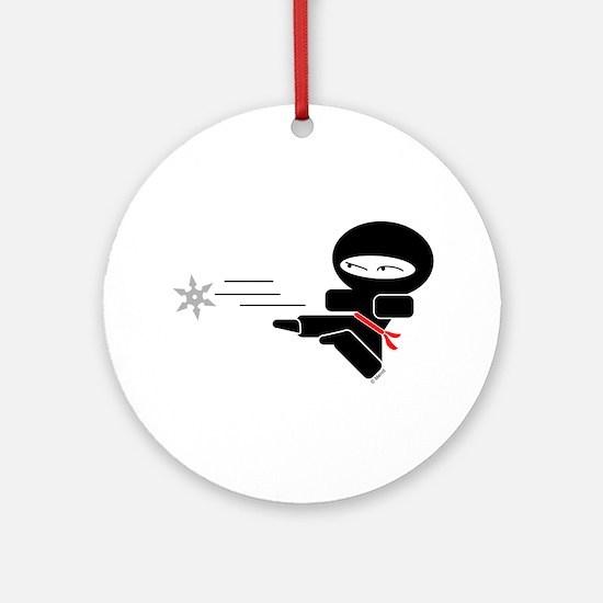 Lil Ninja Ornament (Round)