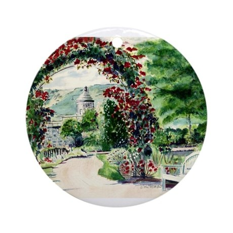 Idaho Botanical Garden Ornament (Round)
