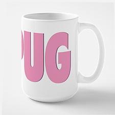 Black Pug/Pink Pug - Mug