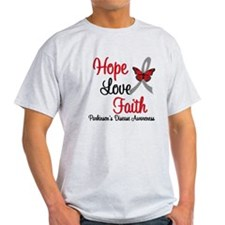 Parkinson'sHopeLoveFaith T-Shirt