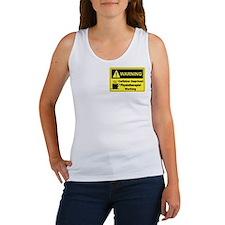 Caffeine Warning Physiotherapist Women's Tank Top