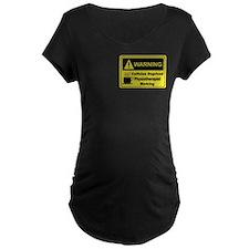 Caffeine Warning Physiotherapist T-Shirt