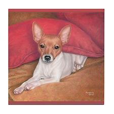 Toy Fox Terrier Tile Coaster