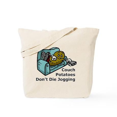 Couch Potato Jogging Tote Bag