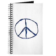 Peace - Blue Journal