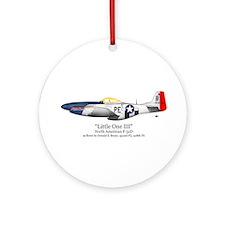 Little One/Bryan Stuff Ornament (Round)