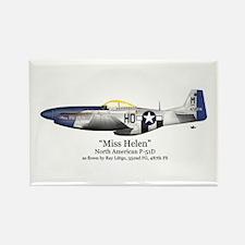 Miss Helen Stuff Rectangle Magnet (10 pack)