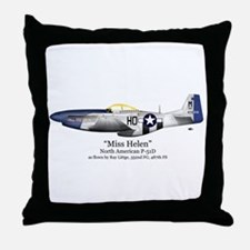 Miss Helen Stuff Throw Pillow
