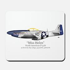 Miss Helen Stuff Mousepad