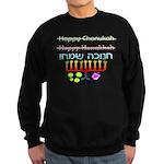 How to Spell Happy Chanukah Sweatshirt (dark)