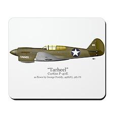 "Preddy's P-40 ""Tarheel"" Mousepad"