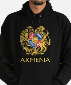 Armenian Coat of Arms Hoodie (dark)