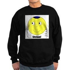 Jewish Rabbi Smiley Face Sweatshirt