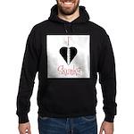 I Love Skunks Hoodie (dark)