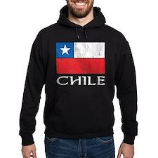 Chile Flag Hoodie