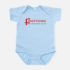 FESTIVUS For the Restofus Infant Bodysuit