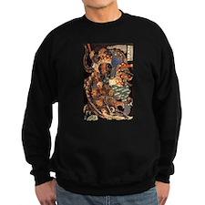 Miyamoto Musashi Ink Painting Sweatshirt
