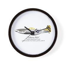 Perritt/Johnny Reb Stuff Wall Clock