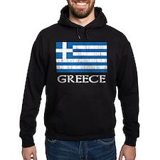 Greece Flag Hoodie