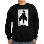 Gothic Sexy Witch Sweatshirt (dark)