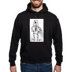 Retro Skeleton Hoodie (dark)