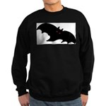 Gothic Black Bat Sweatshirt (dark)