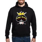 Poker Queen Hoodie (dark)