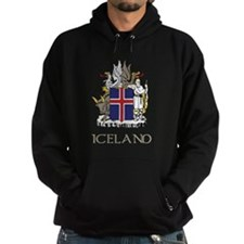 Iceland Coat of Arms Hoodie