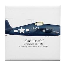 Black Death/Porter Stuff Tile Coaster