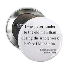 """Edgar Allan Poe 20 2.25"""" Button"""