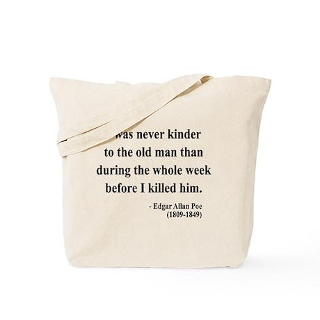 Edgar Allan Poe 20 Tote Bag